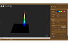 BP-101 | Beam Profiler | Light Analysis   3D-Profile