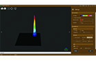 Light Analysis | Beam Profiler - 3D-View
